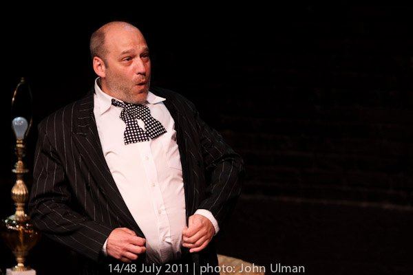 "Playing Curly Howard in ""The Rule of Three"" by Eric Lane Barnes"