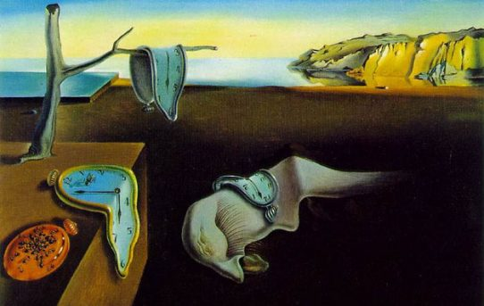 """The Persistence of Time"" by Salvador Dali"